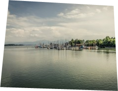 Chiemsee harbour