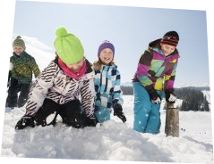 Come and snowball fight with us!